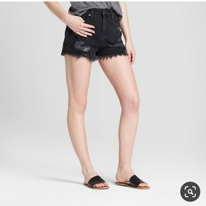 Mossimo Supply Co. High rise short shorts